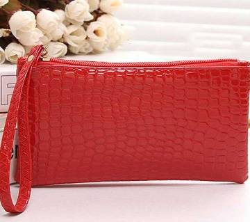 Mini Crocodile Purse Red