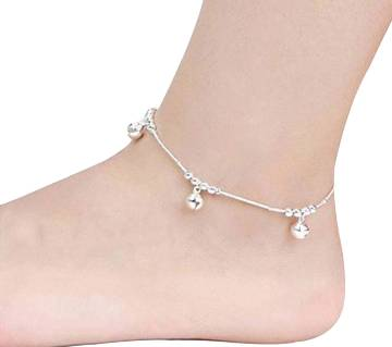 3pcs Bells 12 Beads Silver luxery Chain Payel