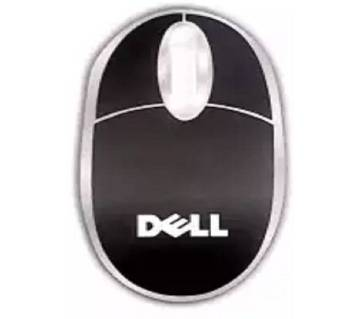 Dell B100 Office Mouse 3-Button Optical Wheel USB Wired Mouse