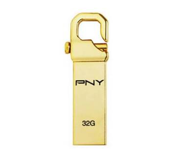 32GB PNY Golden Pendrive