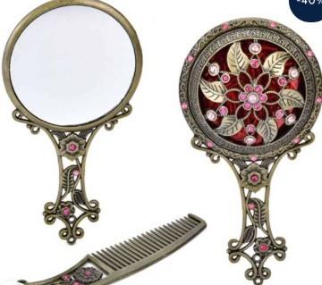 Mirror & Comb Box.