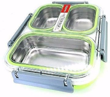 TEDEMEI Stainless Steel Kids and Childrens Lunch Box