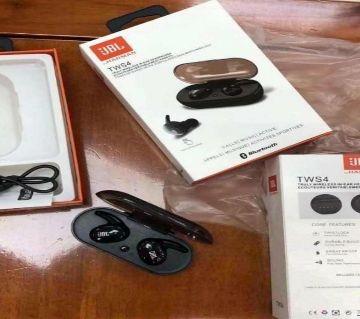 JBL TWS4 Bluetooth Wireless Earbuds Headphones Earphone Wireless copy