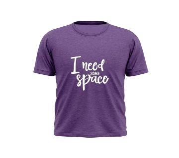 Short Sleeve T-Shirt/Violet Color t-shirt for men