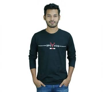 SPOVOG Long Sleeve T-Shirt for Men