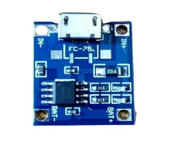 TP4056 5V 1A USB Lithium Battery Charger Module