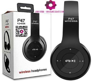 P47  Wireless Bluetooth Headphone By Shoyeb Organization