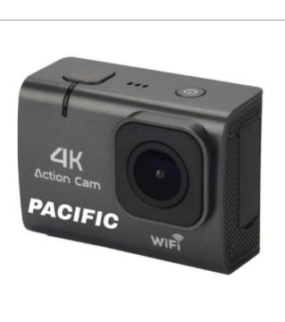Pacific 4K Action camera Screen touch