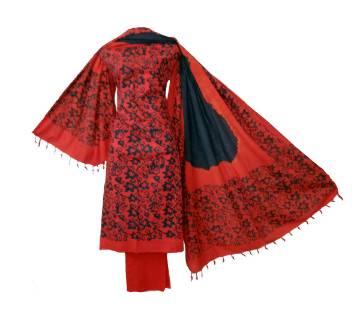 Mom Pati Batik three piece unstiched women dress salwar kameez