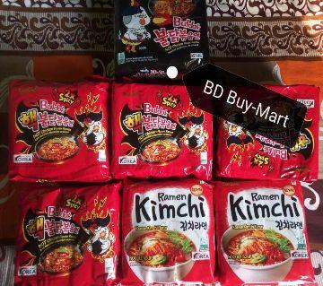 Samyang Hot Chicken Strew Type Ramen Noodles (Koria) 5 pack - 700gm-Korea