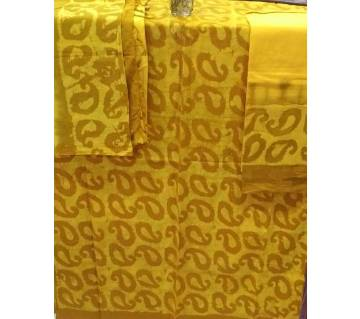 Unstiche Batik cotton three piece