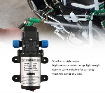 Bike Wsh Water Pump