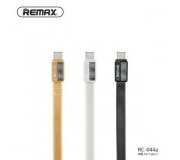 Remax Metal Data Cable For USB Type C Port - 1 pcs