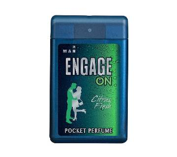 Engage On Citrus Fresh জেন্টস পকেট পারফিউম 18ml India