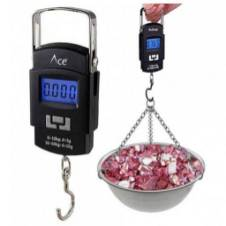 HANGING WEIGHT SCALE with FREE BATTERY