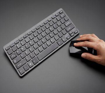 Wireless Mini Keyboard Mouse Combo