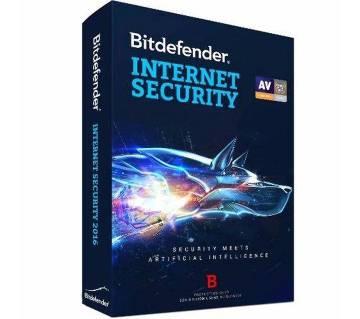 Bitdefender Internet Security 2017 (1 user 1year)