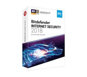 Bitdefender Internet Security 2018 (1 user 1year)