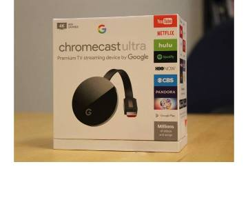 Google Chromecast ULTRA Premium TV Streaming Device