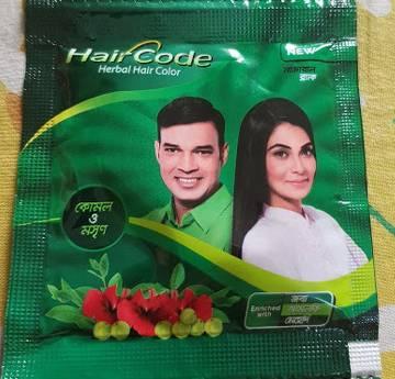 Hair Code হার্বাল হেয়ার কালার (৫ পিস)