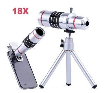 18X Zoom Metal Telescope Camera Lens