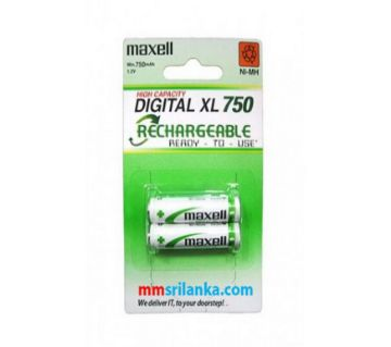 Maxell digital xl 750 AAA Rechargeable Batteries 1 pair