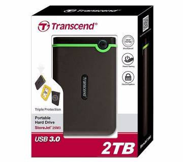 Transcend Portable Hard Drive 2 TB