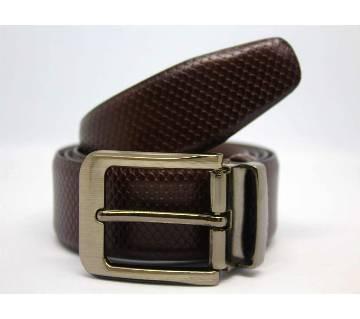 Formal Leather Belt For Men 9019-BR