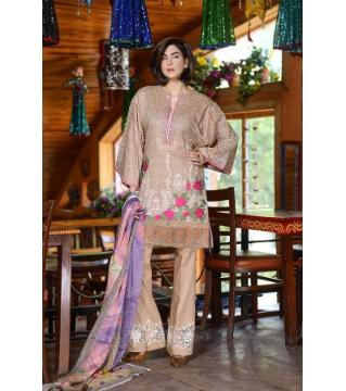 johra tapaz Unstitched cotton salwar kameez