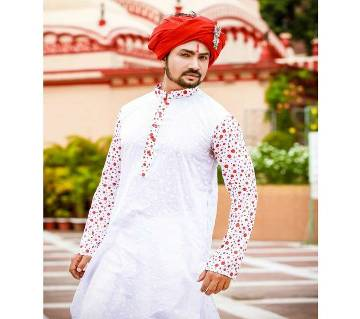 Pohela Boishakh Cotton Punjabi