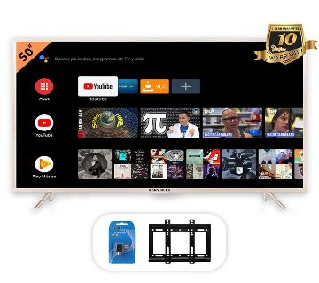 SONY PLUS 50 Smart/WiFi 4k UHD Android LED TV