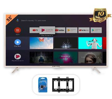 SONY PLUS 55 Smart/WiFi 4k Supported Android LED TV