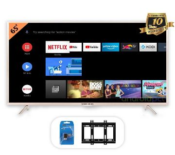 SONY PLUS 65 inch Smart/WiFi 4k Supported Android LED TV