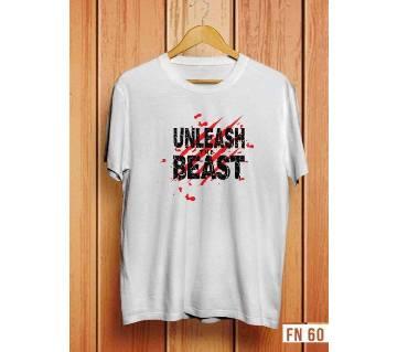 Unleash Beast Menz Half Sleeve T-Shirt-03