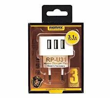 REMAX RP-U31 Moon Charger Plug 3-USB - W Bangladesh - 5271802