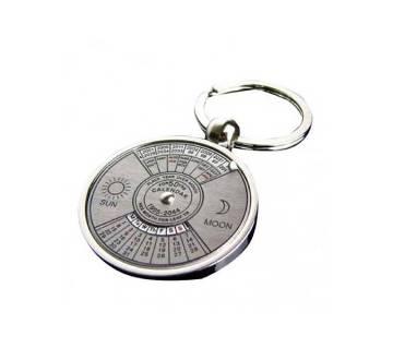 293 Calendar Key Ring - Silver