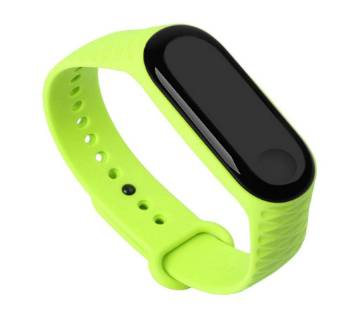 Replacement Silicone Strap for Mi Band 3 - Green