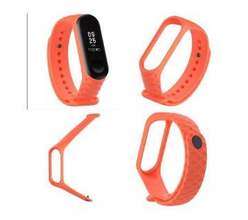 Wristband Replacement Strap for Xiaomi Mi Band 3 - Deep Orange