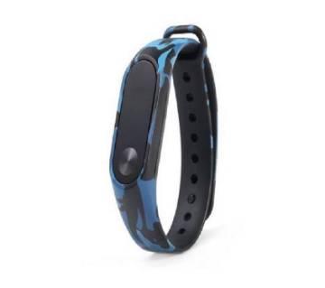 Mi Band 2 Strap Army Design-Blue