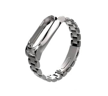 Mi Band 2 - Metal Wristband - Silver