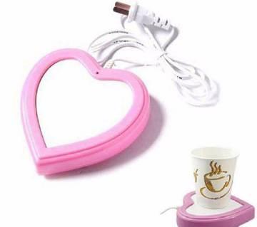Heart Shaped USB Cup Warmer