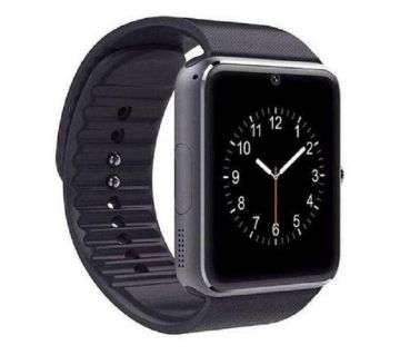 GT08 Smart Watch - Black - SIM Supported