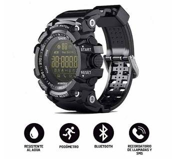 Bluetooth Water-Proof Smart Gear Watch EX16 - Black Simless