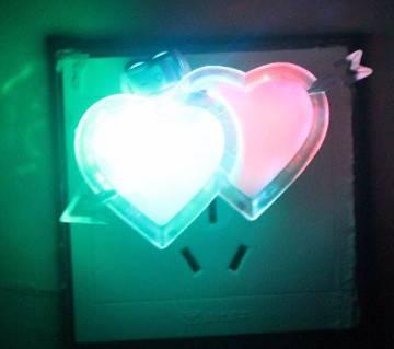 LED Multicolor Plug-in Wall Night Light
