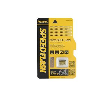 REMAX Micro SD Card CLASS-10 - 64 GB