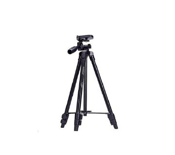 Yunteng VCT-5208 Tripod with Bluetooth Remote Control - Black