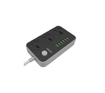 Ldnio Power Strip With 6 USB Ports SC3604 - Black