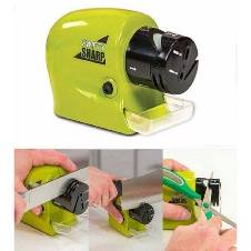 SWIFTY SHARP MOTORIZED KNIFE SHARPNER - GREEN