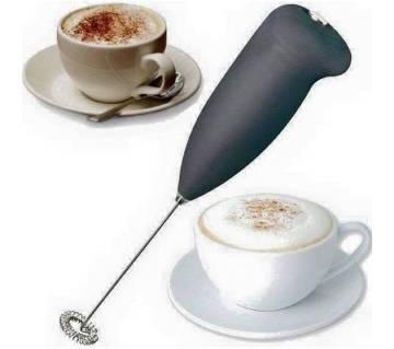 Hand Mixer Coffee Foam Maker - Blue