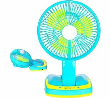 JYSUPER FOLDING DESIGN RECHARGEABLE TABLE FAN